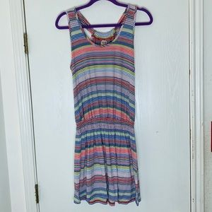 Mossimo Striped Romper. Size large